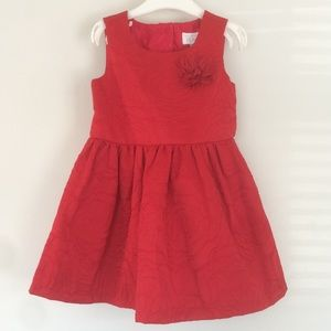Red Formal Dress Size 3T